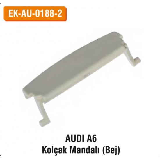 AUDI A6 Kolçak Mandalı (Bej)   EK-AU-0188-2