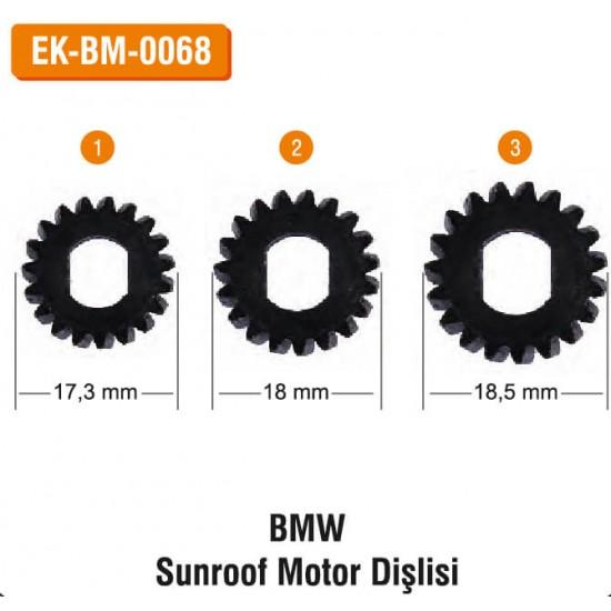 BMW Sunroof Motor Dişlisi   EK-BM-0068