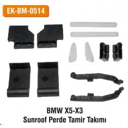 BMW X5-X3 Sunroof Perde Tamir Takımı | EK-BM-0514