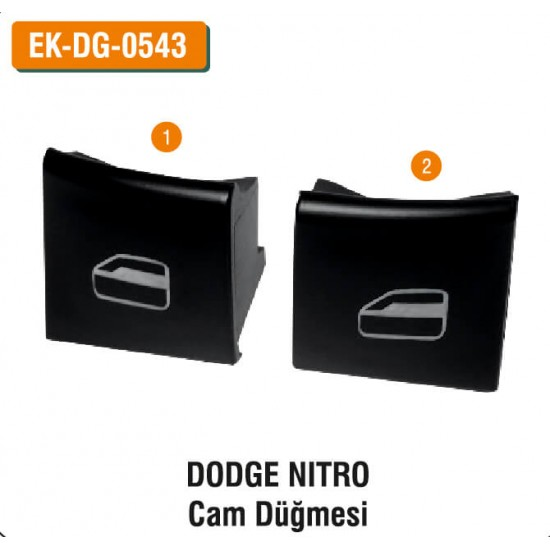 DODGE NITRO Cam Düğmesi   EK-DG-0543