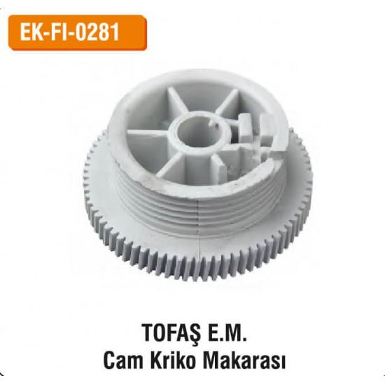 TOFAŞ E.M. Cam Kriko Makarası | EK-FI-0281