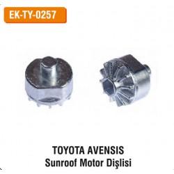 TOYOTA AVENSİS Sunroof Motor Dişlisi | EK-TY-0257