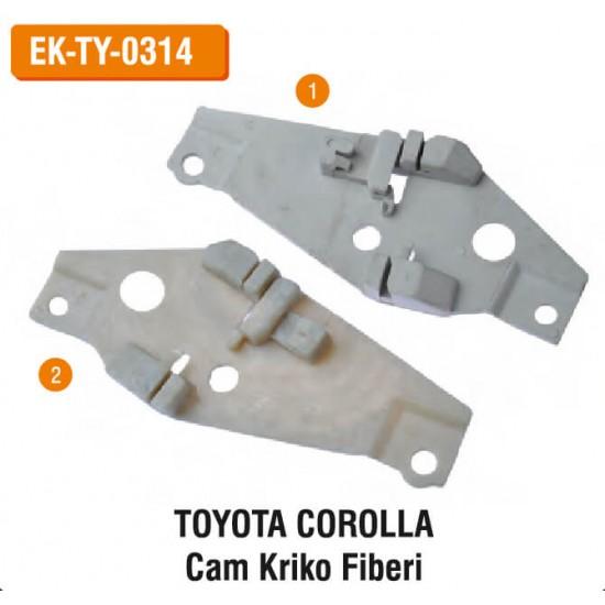 TOYOTA COROLLA Cam Kriko Fiberi   EK-TY-0314