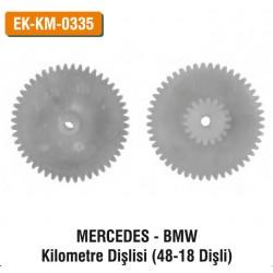 MERCEDES-BMW Kilometre Dişlisi (48-18 Dişli) | EK-KM-0335
