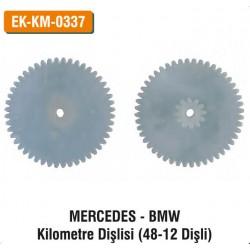 MERCEDES-BMW Kilometre Dişlisi (48-12 Dişli) | EK-KM-0337