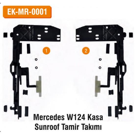 MERCEDES W124 Kasa Sunroof Tamir Takımı   EK-MR-0001