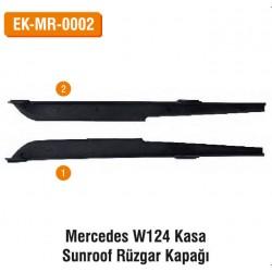 Mercedes W124 Kasa Sunroof Rüzgar Kapağı | EK-MR-0002