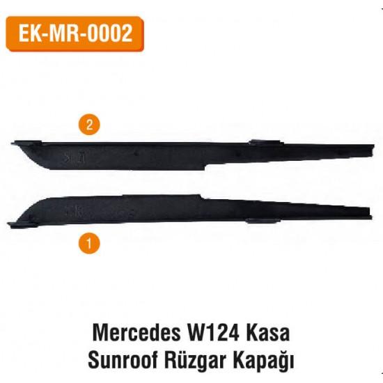 Mercedes W124 Kasa Sunroof Rüzgar Kapağı   EK-MR-0002