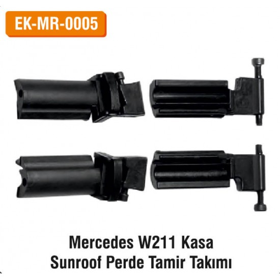 MERCEDES W211 Kasa Sunroof Perde Tamir Takımı | EK-MR-0005