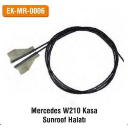 MERCEDES W210 Kasa Sunroof Halatı | EK-MR-0006