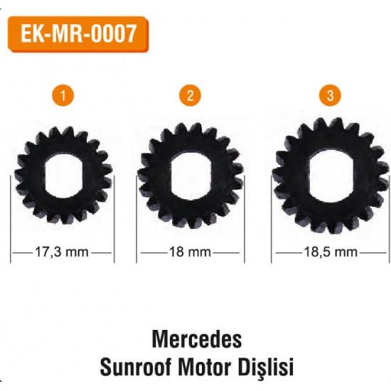 MERCEDES Sunroof Motor Dişlisi | EK-MR-0007