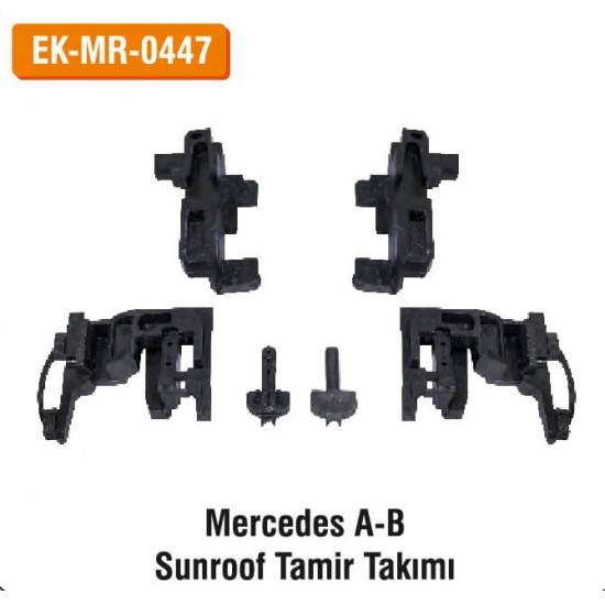 MERCEDES A-B Sunroof Tamir Takımı   EK-MR-0447