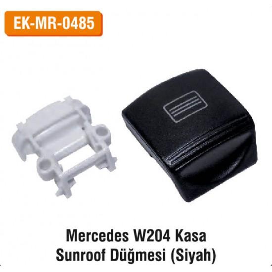 MERCEDES W204 Kasa Sunroof Düğmesi (Siyah) | EK-MR-0485
