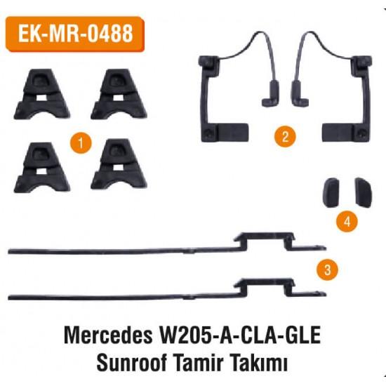 MERCEDES W205-A-CLA-GLE Sunroof Tamir Takımı | EK-MR-0488