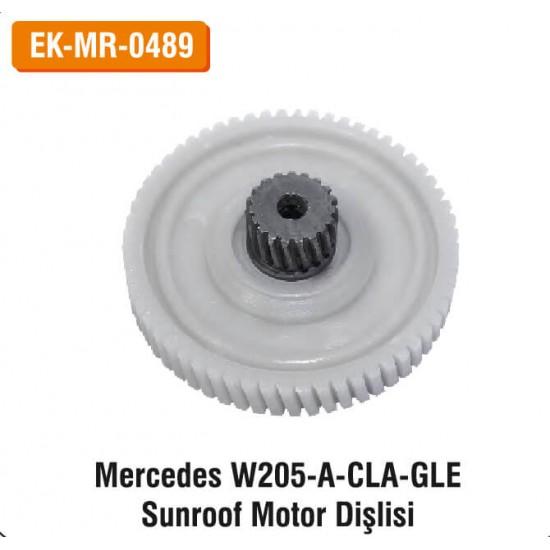 MERCEDES W205-A-CLA-GLE Sunroof Motor Dişlisi | EK-MR-0489