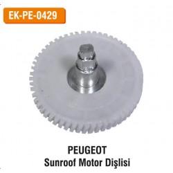PEUGEOT Sunroof Motor Dişlisi | EK-PE-0429