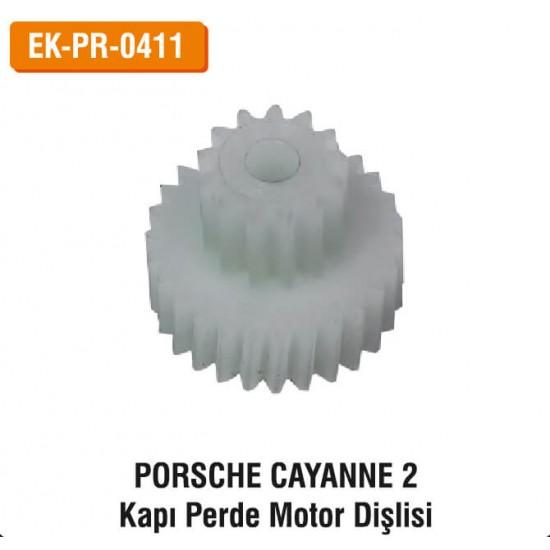 PORSCHE CAYANNE 2 Kapı Perde Motor Dişlisi   EK-PR-0411
