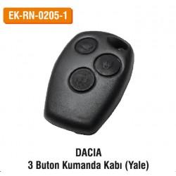 DACIA 3 Buton Kumanda Kabı (Yale) | EK-RN-0205-1