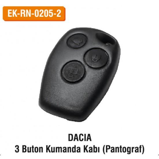 DACIA 3 Buton Kumanda Kabı (Pantograf)   EK-RN-0205-2