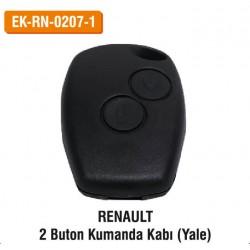 RENAULT 2 Buton Kumanda Kabu (Yale) | EK-RN-0207-1