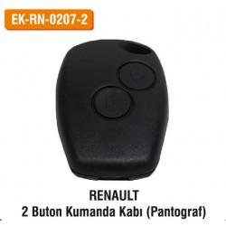 RENAULT 2 Buton Kumanda Kabı (Pantograf) | EK-RN-0207-2