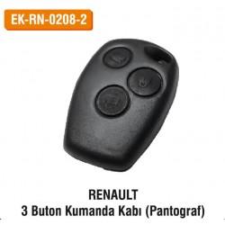 RENAULT 3 Buton Kumanda Kabı (Pantograf) | EK-RN-0208-2