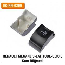 Renault Megane 3 Latitude-Clio 3 Cam Düğmesi | EK-RN-0209