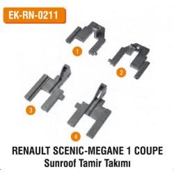 RENAULT SCENİC-MEGANE 1 COUPE Sunroof Tamir Takımı   EK-RN-0211