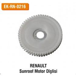 RENAULT Sunroof Motor Dişlisi   EK-RN-0216