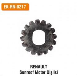 RENAULT Sunroof Motor Dişlisi   EK-RN-0217