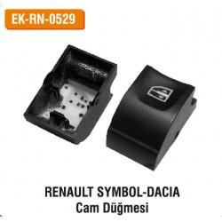 RENAULT SYMBOL DACIA Cam Düğmesi   EK-RN-0529