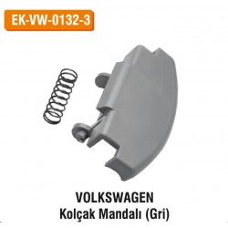 VOLKSWAGEN Kolçak Mandalı (Gri) | EK-VW-0132-3