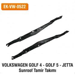 VOLKSWAGEN GOLF 4 - GOLF 5 - JETTA Sunroof Tamir Takımı | EK-VW-0522