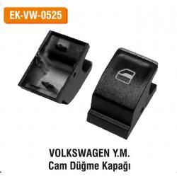 VOLKSWAGEN Y.M. Cam Düğme Kapağı | EK-VW-0525