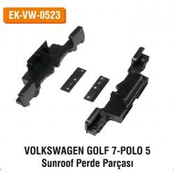 Volkswagen Golf 7 POLO 5 Sunroof Perde Parçası | EL-VW-0523